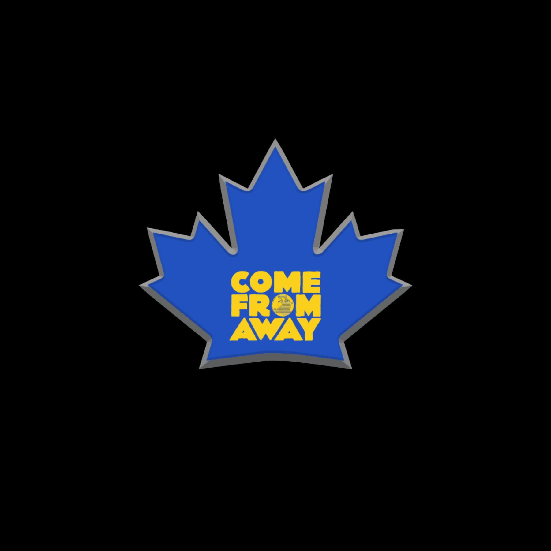CFA Blue Leaf Pin