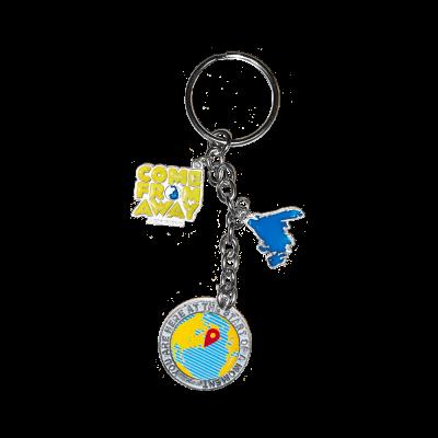 CFA Charm Keychain